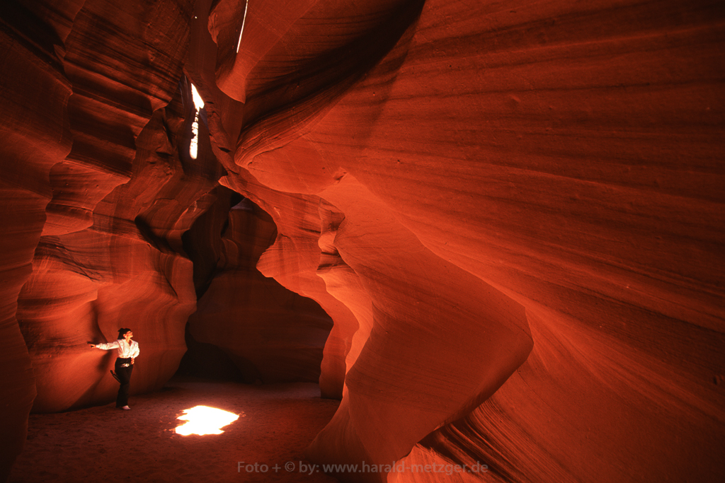 Antelope Canyon, Arizona, USA, Schlucht, Korkenzieherschlucht