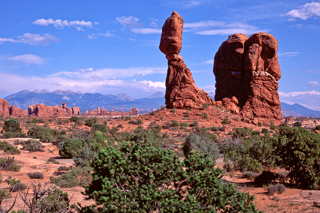 Balanced Rock, Utah, USA, Arches Nationalpark, Felsen, Erosion, Sandstein