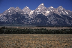 Grand Tetons, Rocky Mountains, Wyoming, USA, Berge,