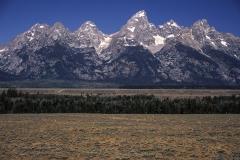 Grand Tetons, Rocky Mountains, Wyoming, USA, Berge,