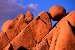 Jumbo Rocks, Joshua Tree Nationalpark, Kalifornien, USA