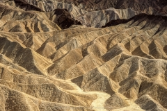 Zabriski Point, Death Valley Nationalpark, Kalifornien, USA, heißester Punkt der USA, Wüste, Erosion