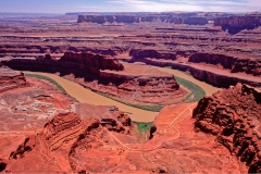Death Horse Point, Colorado-River, Utah, USA, Canyon, Canyonlands Nationalpark