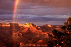 Grand Canyon, Regenbogen, Arizona, USA, Canyon